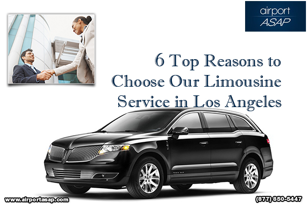 6 Top Reasons to Choose Our Limousine Service in Los Angeles