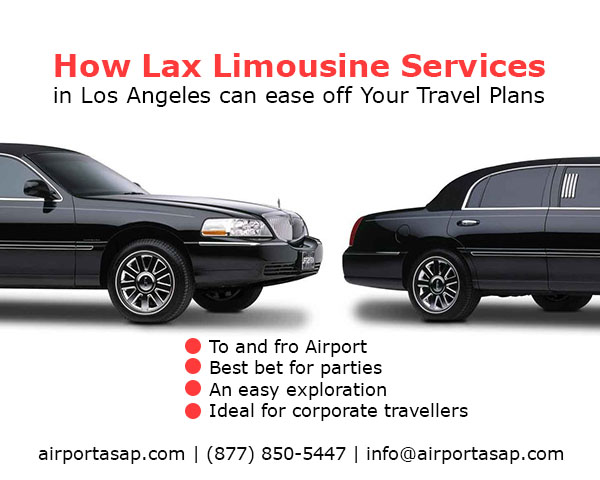 Rent Lax Limousine Service and Shuttle at Los Angeles With Ease