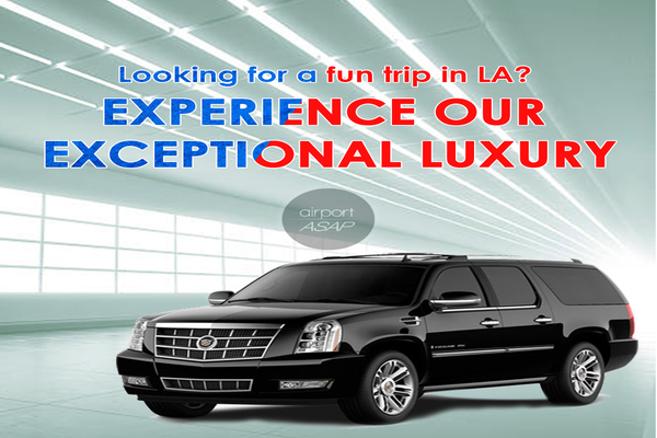 Enjoy the Exclusive Limousine Service in Los Angeles