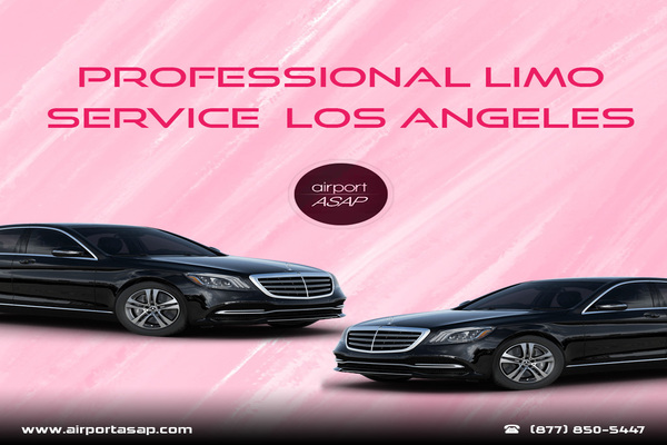 Enjoy the Professional Limousine Services at Los Angeles