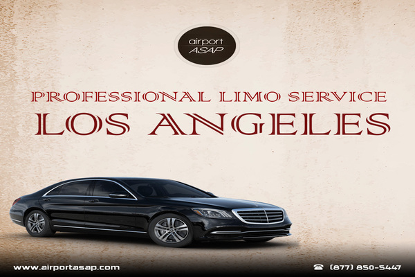 Avail Professional Limo Service at Los Angeles For Your Business