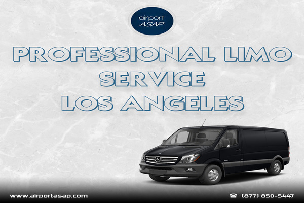 Why Avail Professional Limo Service at Los Angeles?
