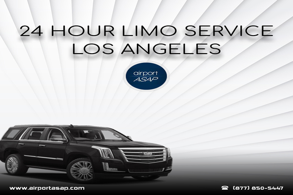 Get 24-Hour Limo Service in Los Angeles